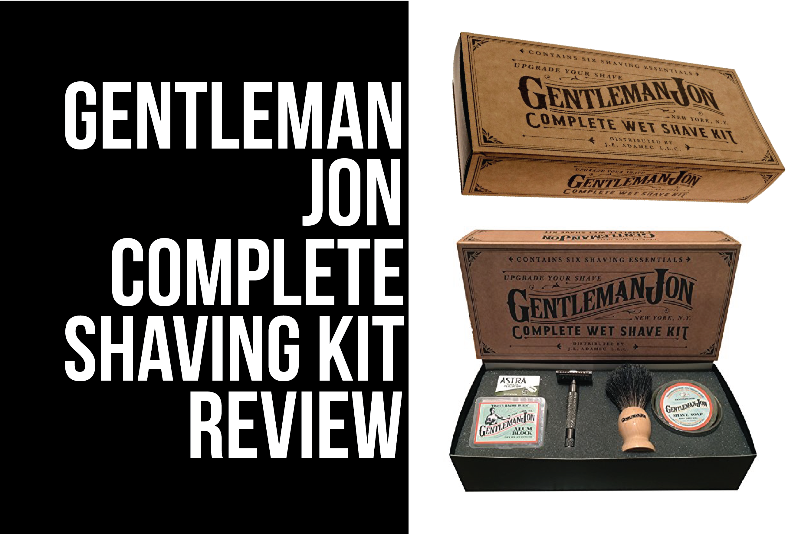 gentleman jon shaving kit
