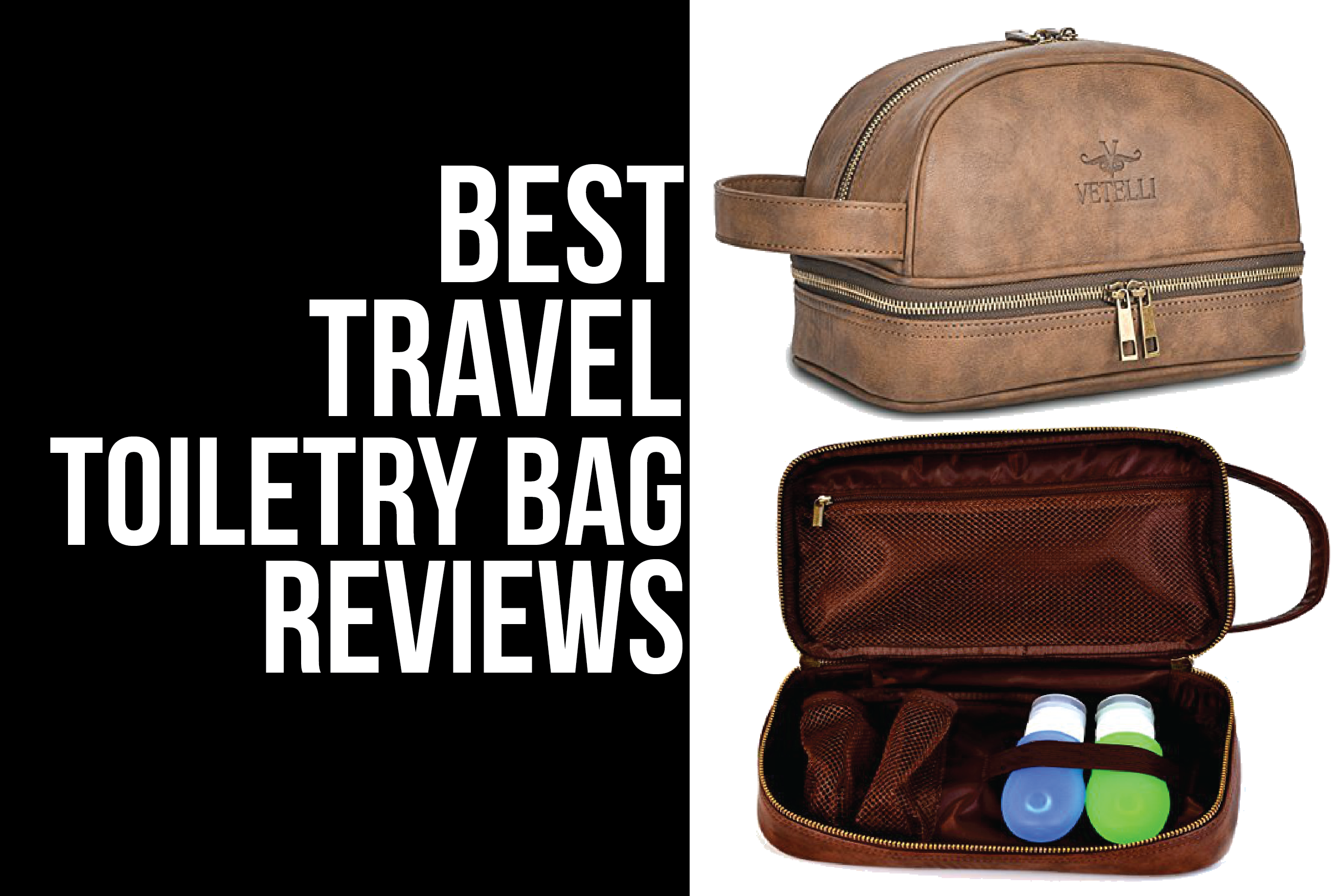 toiletry bag reviews