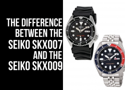 Seiko SKX007 vs SKX009 (The Difference Between Them)
