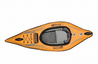 Advanced Elements Lagoon 1 AE1031O Inflatable Kayak Review