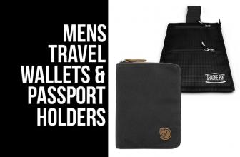 16 Best Men's Travel Wallets and Passport Holders