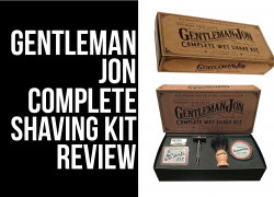 Gentleman Jon Complete Shave Kit Review